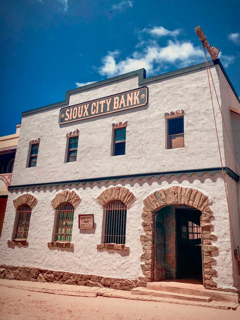 Asalto al banco en Sioux City Park Gran Canaria