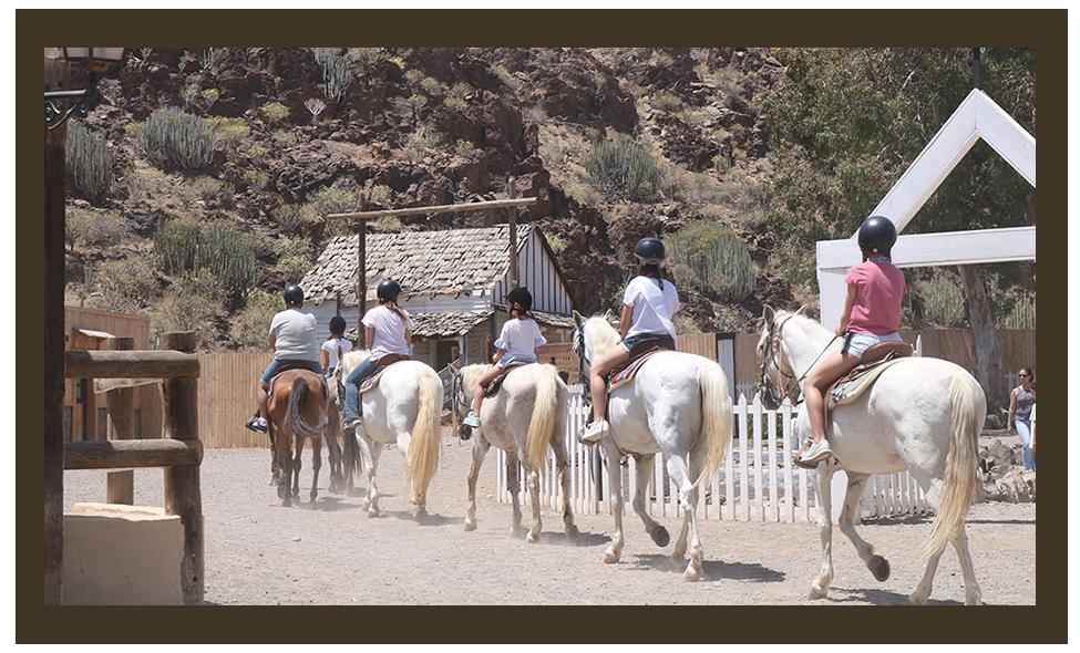 Horseland en Sioux City Park Gran Canaria